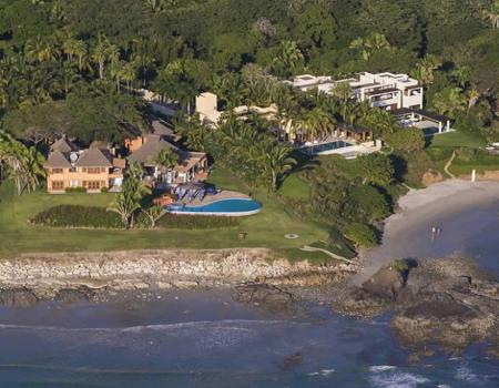 Ranchos Estates shore front in Punta Mita