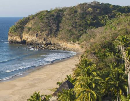 Secluded Beach in Punta Mita
