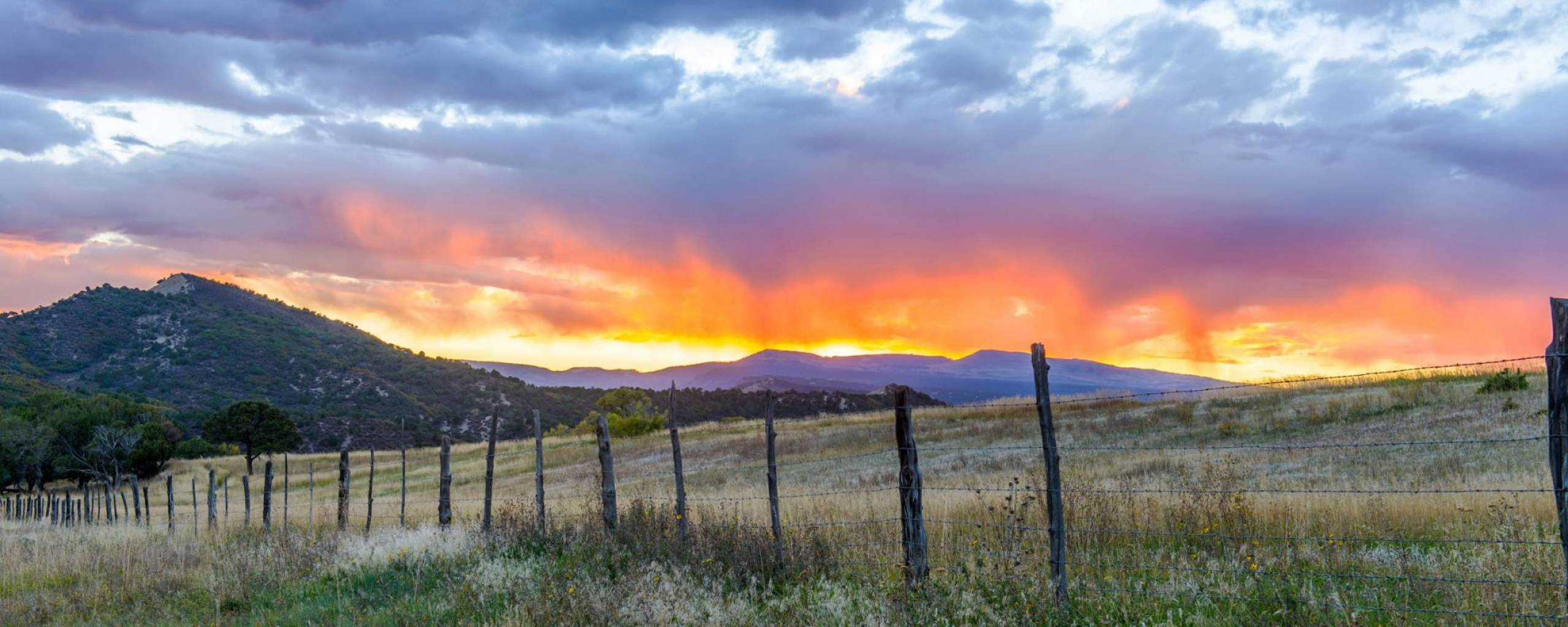 Countryside Sunset Near Telluride Colorado