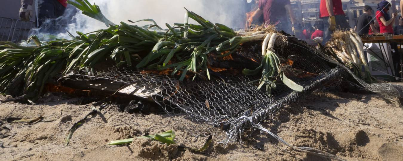 Calcotada: the Traditional Catalonian Barbeque