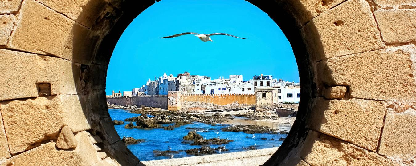 View of Essaouira, Morocco