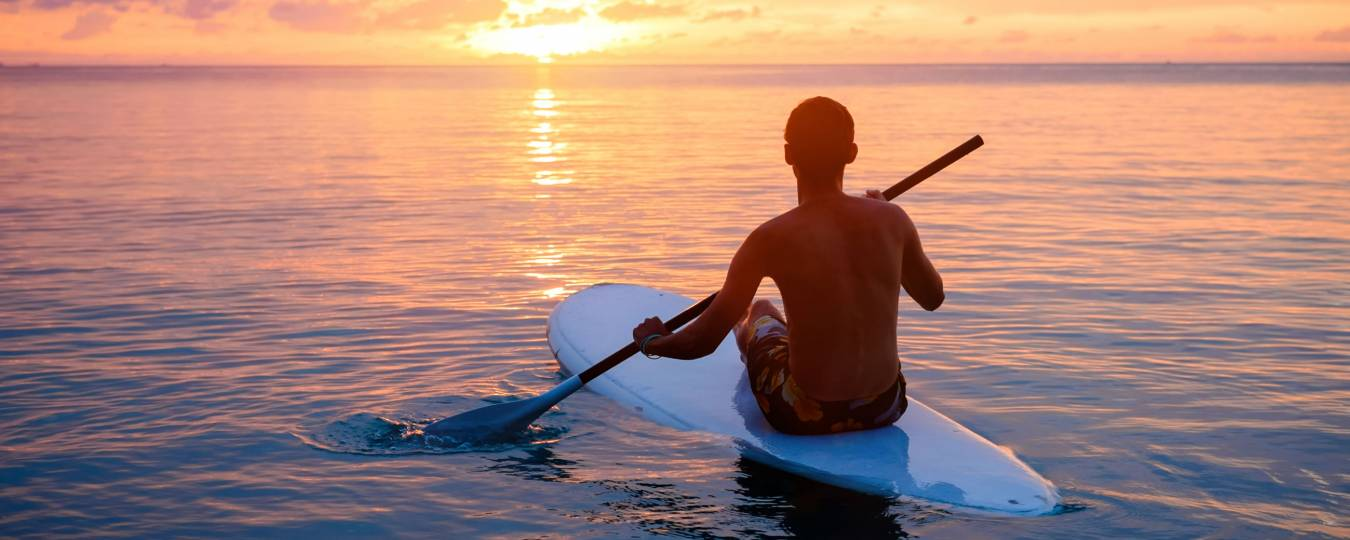 SUP at Sunset