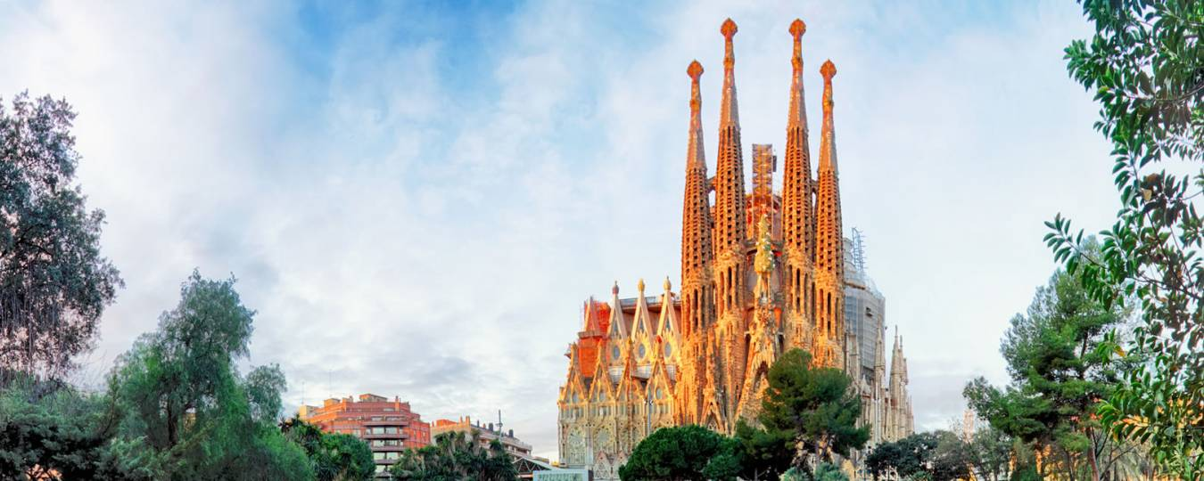 Basilica of the Sagrada Familia Before Construction