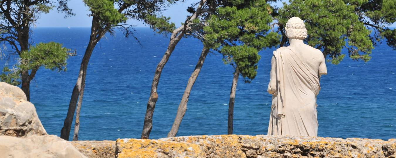 Statue at Ruins of Empuries, Costa Brava