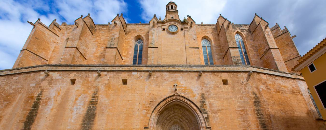Cathedral in Menorca, Spain