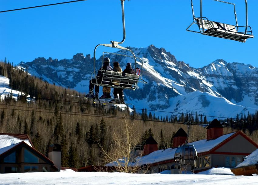 Chairlift in Telluride