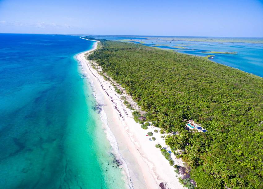 Tulum Beachfront Rentals with plenty of water activities