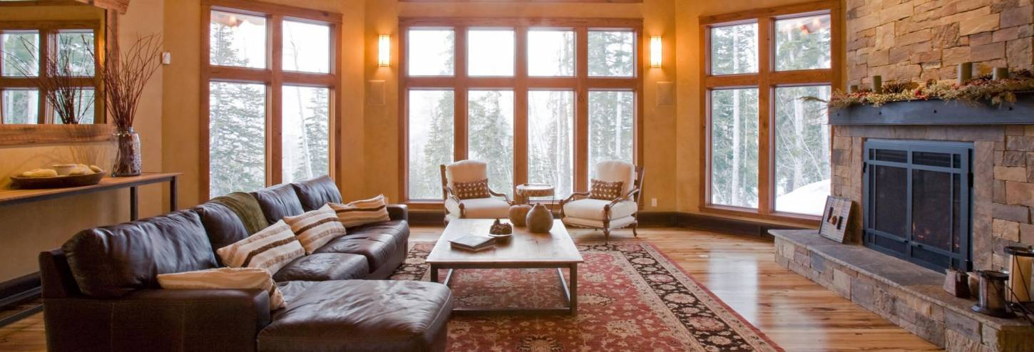 Alpenglow living area in Telluride