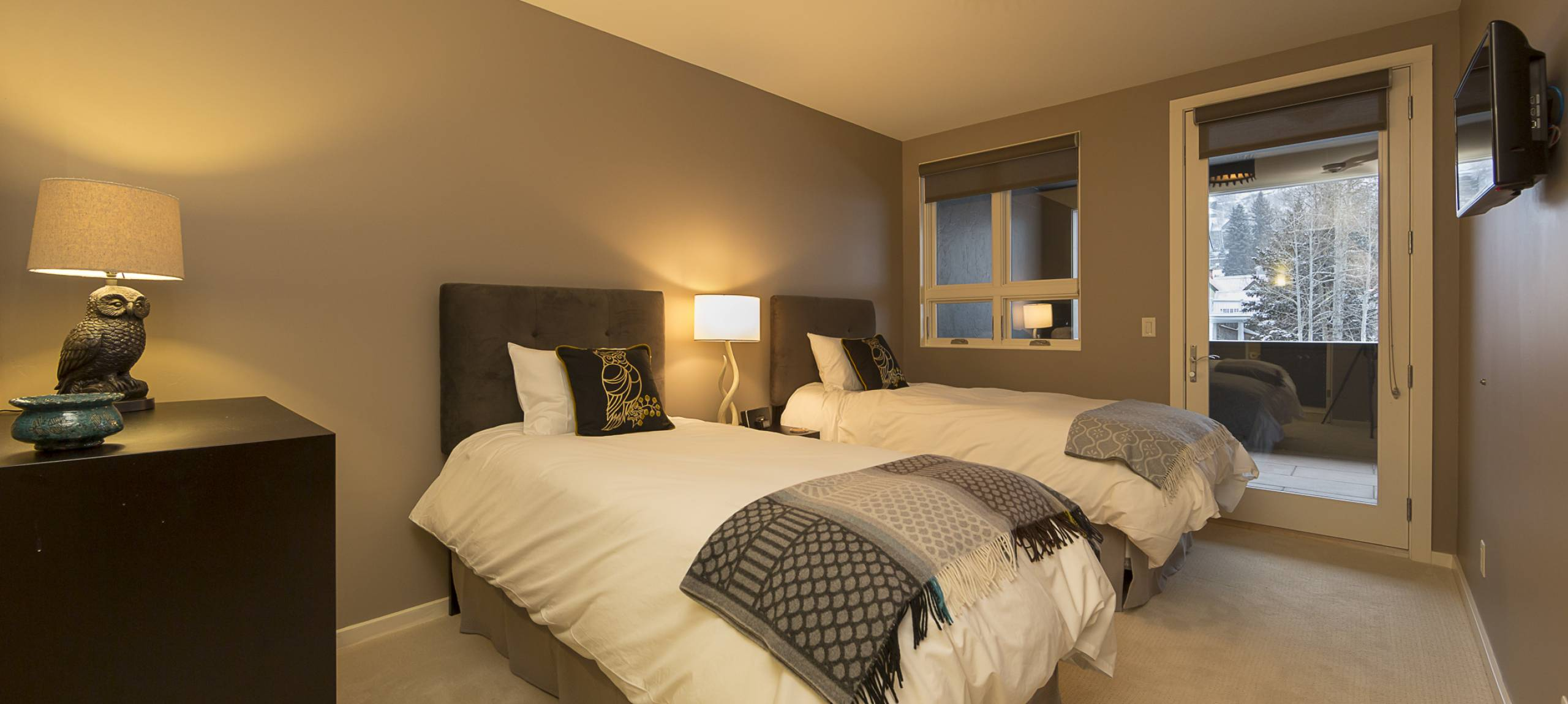 Telluride-rentals-trulux-penthouse-two-twin-beds