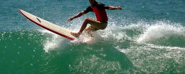 Surfing a Crystal Clear Wave