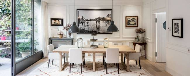 Urban Villa Dining Room Table