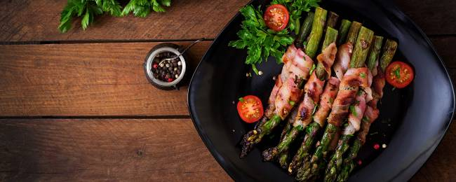 Asparagus with Proscuitto