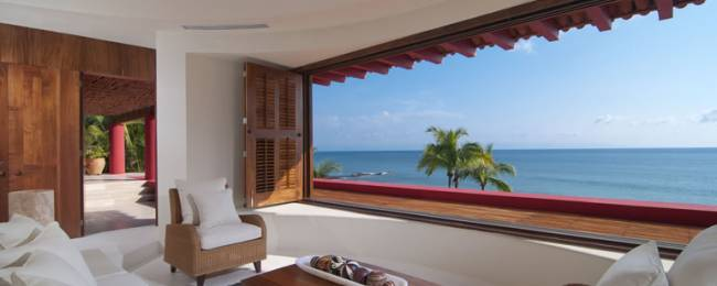 Villa Pacifica Master Bedroom with a View