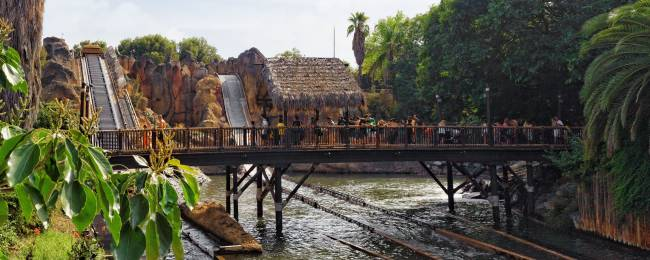 Port Aventura them park in Spain