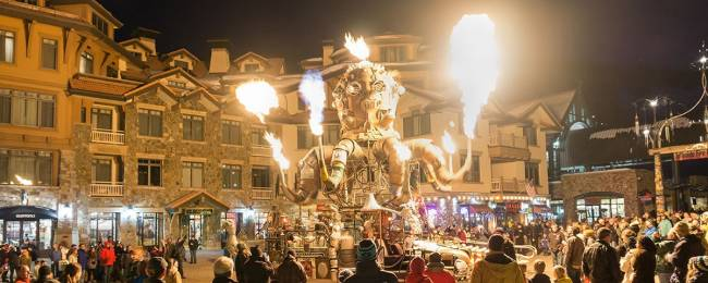 Telluride Fire Festival in Colorado