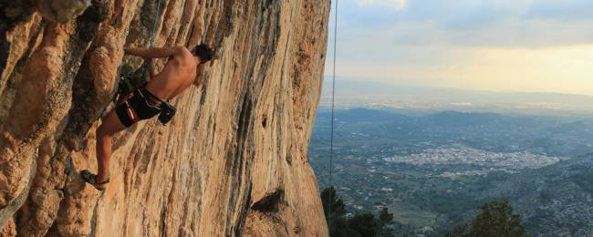 Rock Climbing in Mallorca, Spain