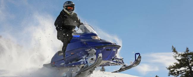 Telluride Winter Snowmobile