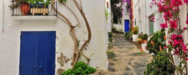 Street in Cadaques