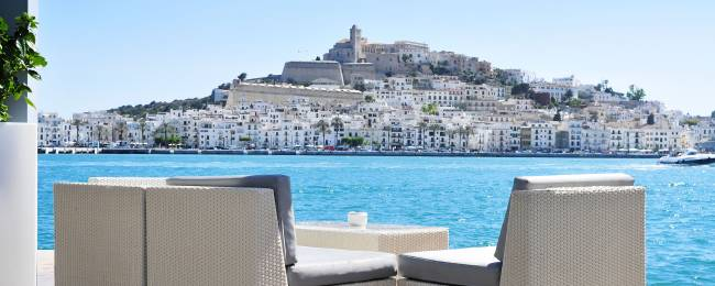 View of Dalt Vila