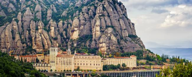 Full View of Montserrat
