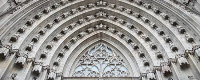 Stonework on Cathedral