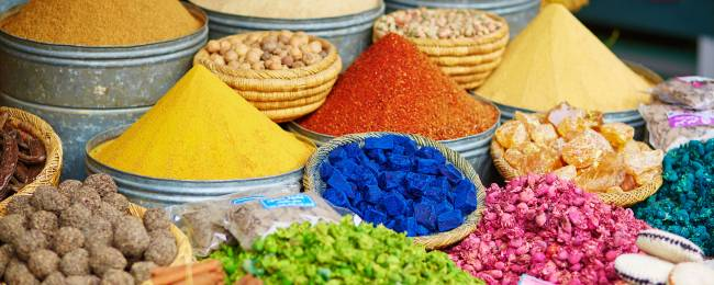 Spices at a Souk