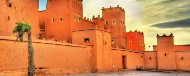 Taourirt Kasbah, Morocco