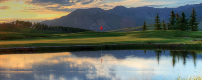 Golf Course in Telluride Colorado