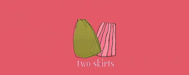 Two skirts shopping in Telluride