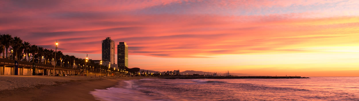 Sunset Beach Barcelona