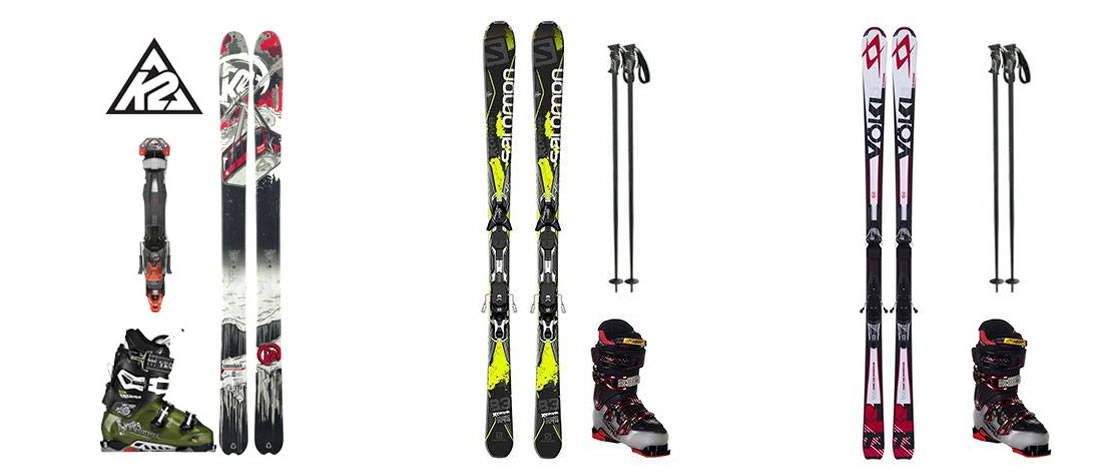 Custom Skis and Boots in Telluride