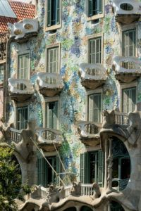 Balconies on Casa Batllo
