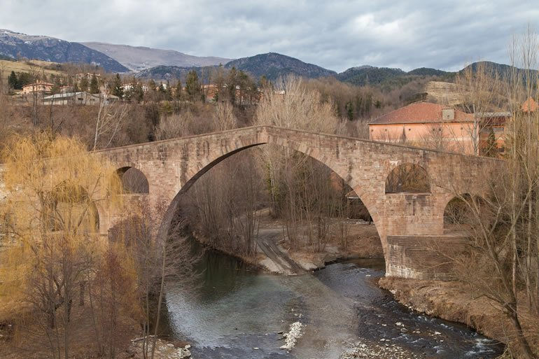 Bridge at Sant Joan de les Abadesses