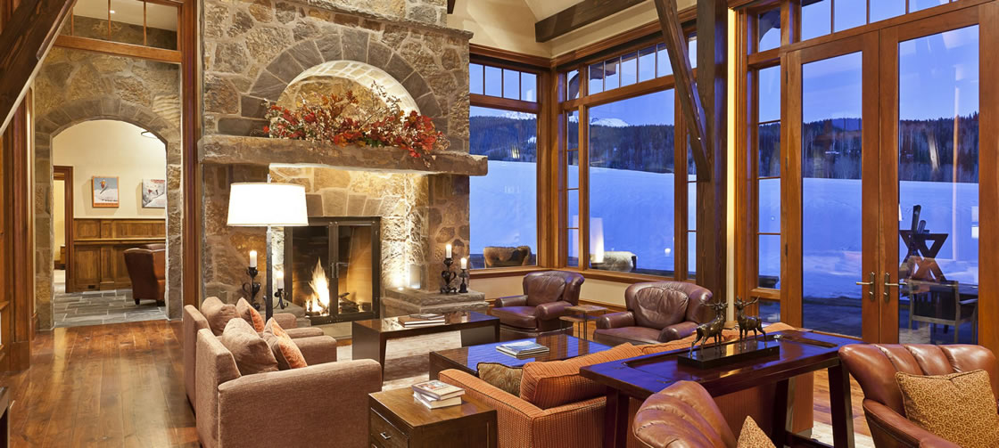 Hood Park Manor Vacation Rental in Telluride for the Christmas and New Year's Holidays