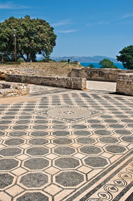 Ruins of Empuries Tile Floor