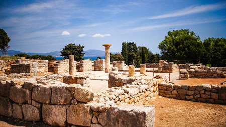 Ruins of Empuries Site