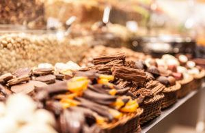 Chocolate at the Market Barcelona