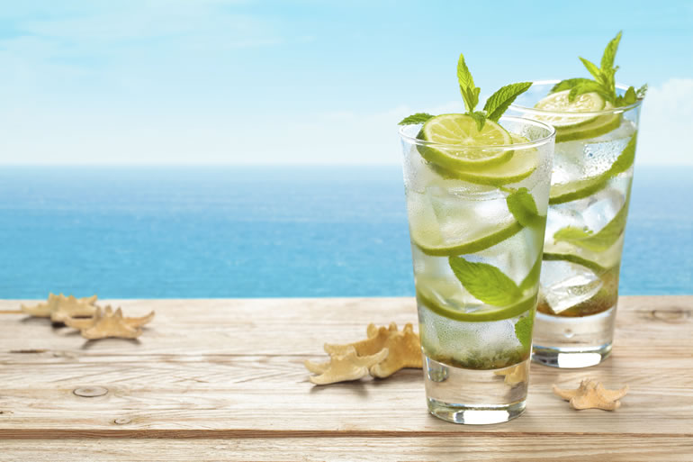 Oceanfront Mojitos