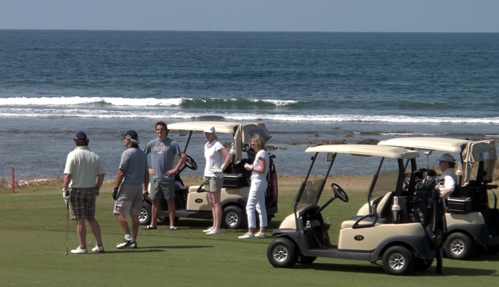 Golf on the Beach in Punta Mita, Mexico