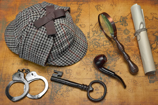 Sherlock Holmes Equipment Escape Rooms Ibiza