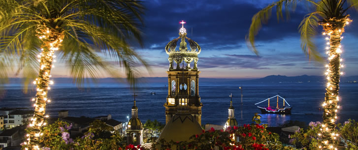 Puerto Vallarta Night Lights