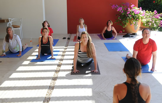 Relaxing Peaceful Yoga Class in Punta Mita