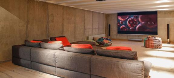 Olive Grove Residence Movie Den