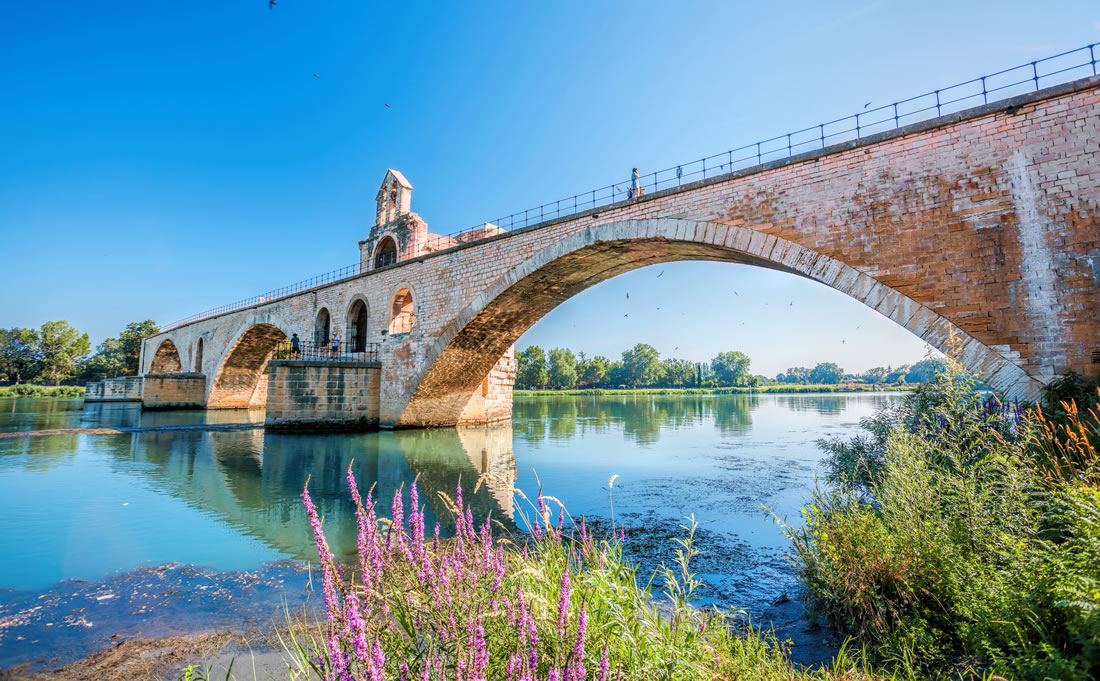 Bridge in Provence, France