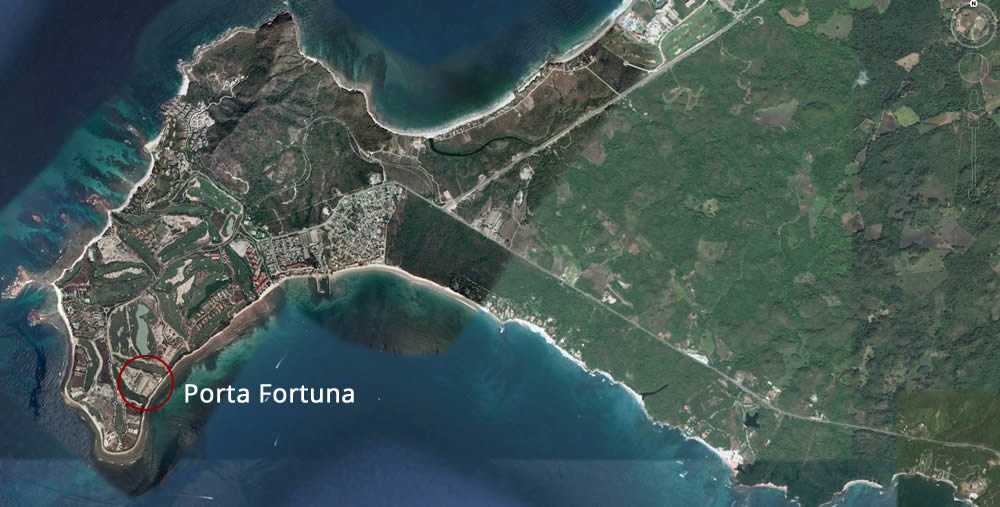 Porta Fortuna Luxury Development Location
