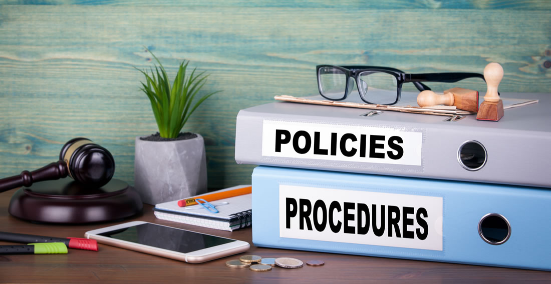 Policies and marketing procedures for property management