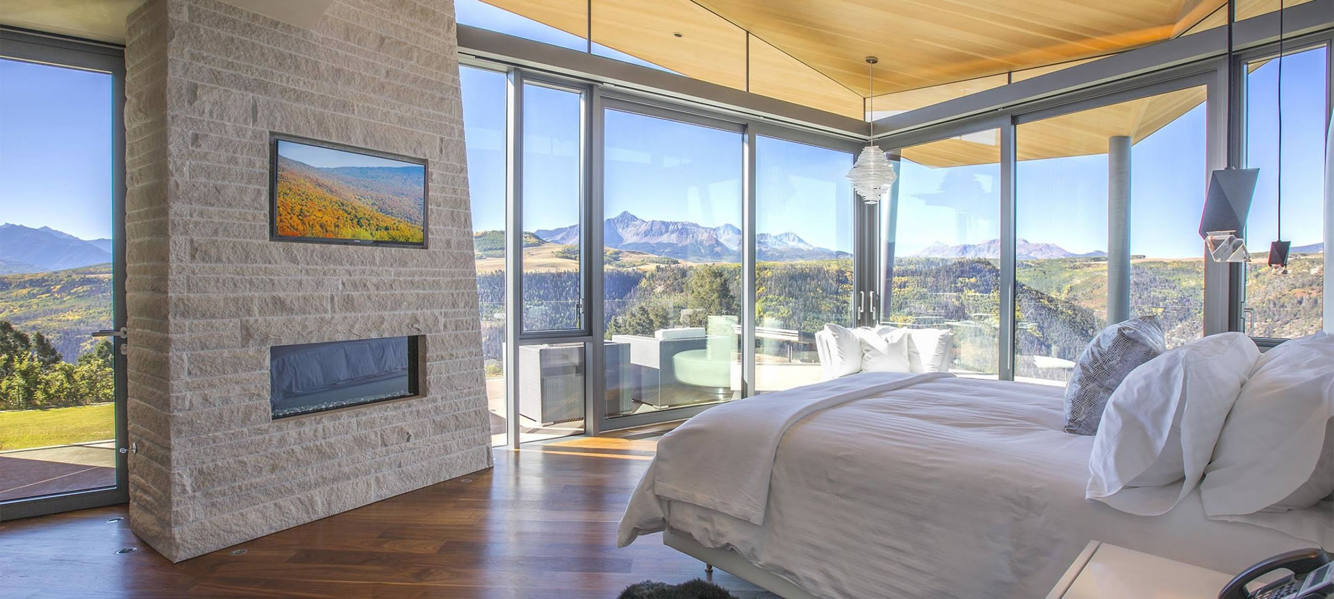 Sunset Ridge Bedroom with a View